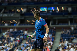 August 29, 2018 - Flushing Meadow, NY, U.S. - FLUSHING MEADOW, NY - AUGUST 29: VASEK POSPISIL (CAN) day three of the 2018 US Open on August 29, 2018, at Billie Jean King National Tennis Center in Flushing Meadow, NY. (Photo by Chaz Niell/Icon Sportswire) (Credit Image: © Chaz Niell/Icon SMI via ZUMA Press)