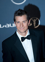© Licensed to London News Pictures. 06/02/2012. London, UK. Bear Grylls  arriving on the red carpet for the Laureus World Sports Awards 2012. Dozens of sports and Hollywood celebrities arrived in the English capital to attend the event held at the Queen Elizabeth II Conference Centre in the same year that London will host the Olympic Games. Photo credit : Ben Cawthra/LNP