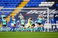 Bham City indirect free-kick in box during the FA Women's Super League match between Birmingham City Women and Brighton and Hove Albion Women at St Andrews, Birmingham United Kingdom on 12 September 2021.