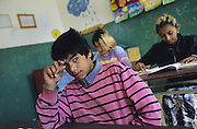 Roma children have been systematically denied opportunties in Slovakia. it starts off with the education system where Roma learn in segregated schools. Often they are treated as mentaly handicapped rather than helped with their learning difficulties. This segregated education system is akin to Apartheid. Slovakia.