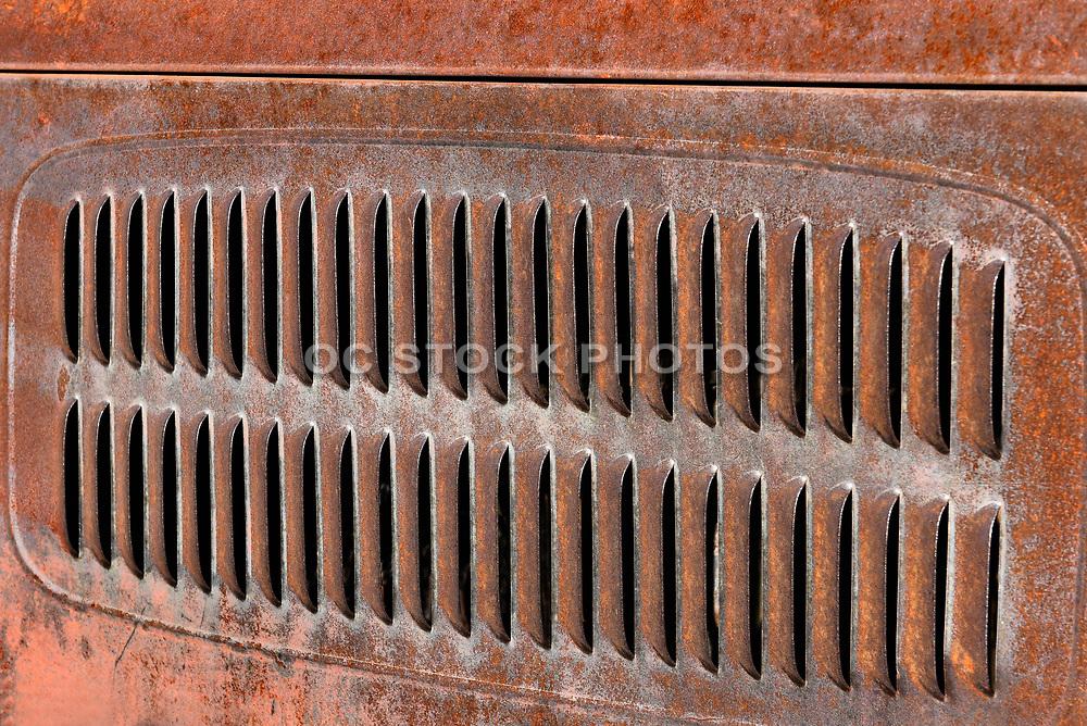 Rusty Truck Vents