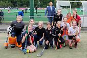 Koning bezoekt sportgebied Genneper Parken in Eindhoven