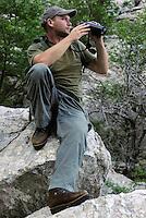 Wildlife guide and hunting  guide Hrvoje Bezjak, Velebit Nature Park, Rewilding Europe rewilding area, Velebit  mountains, Croatia