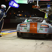 #98 Aston Martin Vantage V8, Aston Martin Racing (drivers: Auberlen/Dalla Lana/Lamy) at Le Mans 24 2013