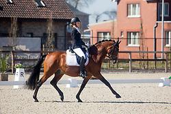 Roth Antonia, GER, Dark Delight B<br /> CDI3* Opglabbeek<br /> © Hippo Foto - Sharon Vandeput<br /> 23/04/21