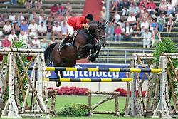 Philippaerts Ludo (BEL) - Darco<br /> CHIO Aachen 1993<br /> Photo © Hippo Foto