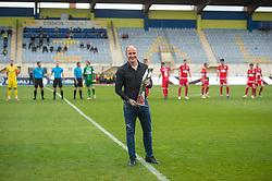 prior to the football match between NK Domzale and NK Aluminij in 36th Round of Prva liga Telekom Slovenije 2020/21, on May 22, 2021 in Sportni park Domzale, Slovenia. Photo by Anze Petkovsek / Sportida