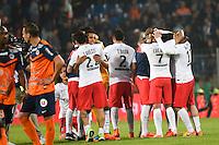 Joie PSG Champion - 16.05.2015 - Montpellier / Paris Saint Germain - 37eme journee de Ligue 1<br />Photo : Alexandre Dimou / Icon Sport