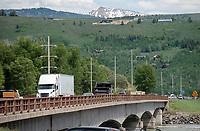 Snake River Bridge on Highway 22 near Wilson
