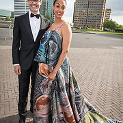 NLD/Amsterdam/20190525 - AmsterdamDiner 2019, Rob Jetten en .......