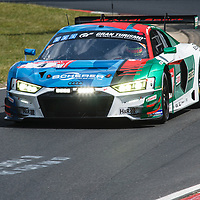 #4, Audi R8 LMS, Audi Sport Team Phoenix, drivers: Kaffer, Stippler, Vervisch, Dries Vanthoor at ADAC Total 24-Hour Race on 22.06.2019 at Nürburgring Nordschleife