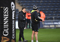 Ospreys Coach Allen Clarke<br /> <br /> Photographer Mike Jones/Replay Images<br /> <br /> Guinness PRO14 Round Round 16 - Ospreys v Cheetahs - Saturday 24th February 2018 - Liberty Stadium - Swansea<br /> <br /> World Copyright © Replay Images . All rights reserved. info@replayimages.co.uk - http://replayimages.co.uk
