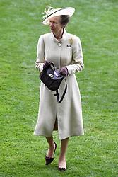 The Princess Royal during day one of Royal Ascot at Ascot Racecourse