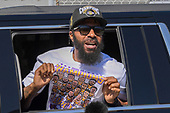 NBA: Los Angeles Lakers Championship Return-Oct 12, 2020