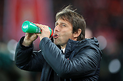 Chelsea manager Antonio Conte before the Premier League match at Anfield, Liverpool.
