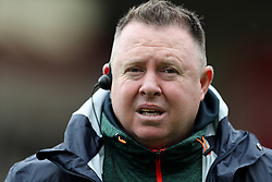Leicester Tigers head coach Matt O'Connor during the Aviva Premiership match at Welford Road, Leicester.