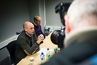 18. November 2009, pressekonferanse , viking stadion , Uwe Rösler trekker seg som Viking trener , Foto: Tommy Ellingsen