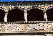 SPAIN, CASTILE and LEON Avila; Santo Tomas (St. Thomas) a  15th century Dominican Monastery;  the 'Silent Cloister'