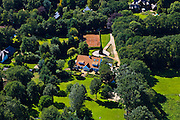 Nederland, Noord-Holland, Laren (of Blaricum), 30-06-2011; villa Marco Borsato.The home of Dutch singer Marco Borsato..luchtfoto (toeslag), aerial photo (additional fee required).copyright foto/photo Siebe Swart