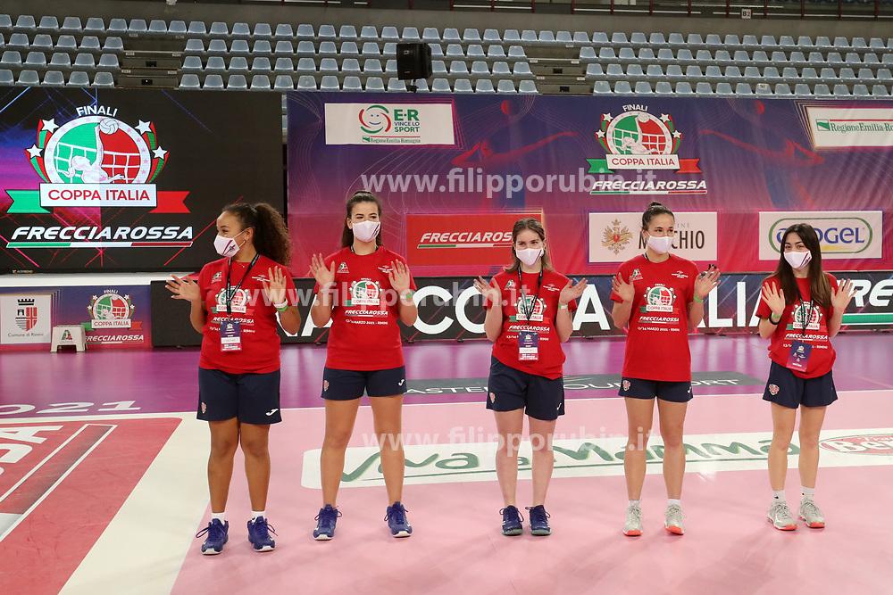 MOPPERS<br /> FINAL FOUR COPPA ITALIA PALLAVOLO FEMMINILE<br /> RIMINI 14-03-2021<br /> FOTO FILIPPO RUBIN / LVF