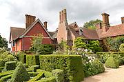 Wyken Hall house and gardens, Suffolk, England, UK