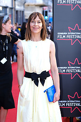 Edinburgh International Film Festival 2019<br /> <br /> Boyz In The Wood (European Premiere)<br /> <br /> Stars and guests arrive on the red carpet for the opening gala<br /> <br /> Pictured: Kate Dickie<br /> <br /> Alex Todd | Edinburgh Elite media