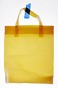 sturdy plastic shopping bag
