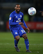 Junior Hoilett of Cardiff City in action. EFL Skybet championship match, Cardiff city v Barnsley at the Cardiff city stadium in Cardiff, South Wales on Tuesday 6th March 2018.<br /> pic by Andrew Orchard, Andrew Orchard sports photography.