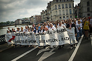Demonstration to support Basque peace precess
