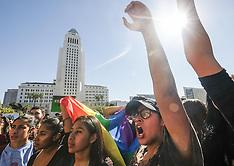 California - Anti-Trump rallies - 14 September 2016
