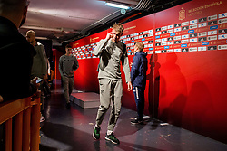 March 23, 2019 - Valencia, SPAIN - 190323 Kristoffer Ajer of Norway in the mixed zone after the UEFA Euro Qualifier football match between Spain and Norway on March 23, 2019 in Valencia..Photo: Vegard Wivestad Grøtt / BILDBYRÃ…N / kod VG / 170317 (Credit Image: © Vegard Wivestad GrØTt/Bildbyran via ZUMA Press)