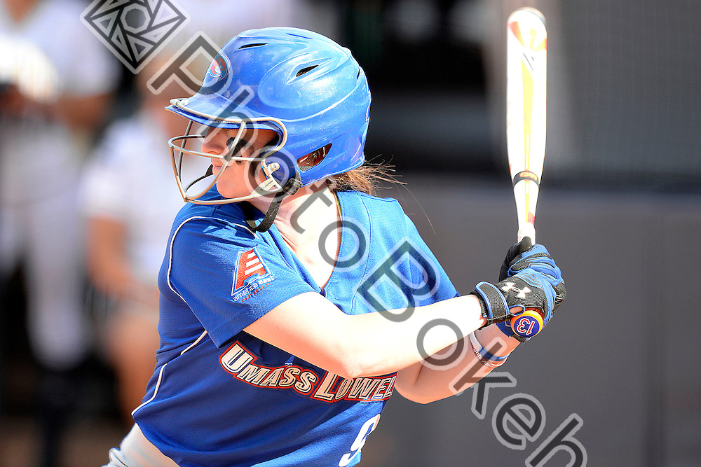 2015 March 17 - UMass Lowell's Ariana Darcy (9). Florida International University defeated UMass Lowell, 9-1, in 6 innings at Felsberg Field, Miami, Florida. (Photo by: Alex J. Hernandez / photobokeh.com) This image is copyright by PhotoBokeh.com and may not be reproduced or retransmitted without express written consent of PhotoBokeh.com. ©2015 PhotoBokeh.com - All Rights Reserved