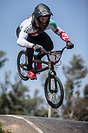 #7 (GRAF David) SUI at round 8 of the 2018 UCI BMX Supercross World Cup in Santiago del Estero, Argentina.