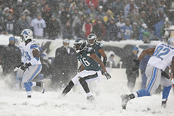 Philadelphia Eagles wide receiver Brad Smith #16 during the NFL game between the Detroit Lions and the Philadelphia Eagles on Sunday, December 8th 2013 in Philadelphia. The Eagles won 34-20. (Photo by Brian Garfinkel)