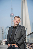 CHINA / Shanghai <br /> <br /> Lars Falk , Vice President of Design, China, Volvo Car Corporation <br /> <br /> © Daniele Mattioli Shanghai China Corporate and Industrial Photographer  for Volvo Cars Sweden