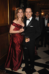 DAVID FURNISH and JO LEVIN at the Ark 2007 charity gala at Marlborough House, Pall Mall, London SW1 on 11th May 2007.<br />