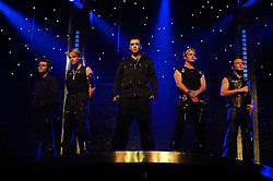 """Westlife play their third consecutive concert at the Hallam FM Arena at the start of their """"Unbreakable"""" Tour 2003 Monday 21st July 2003<br /> <br /> Image Copyright Paul David Drabble<br /> 21 July 2003"""