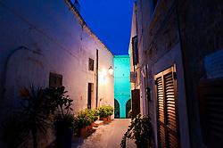 Polignano, vicoli del centro storico