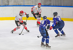 29# Tavcar Maj of HDD SIJ Acroni Jesenice during the final match of Slovenia Cup 2020/21 between HDD SIJ Acroni Jesenice and HKMK Bled, on 19.09.2020 in Ljubljana, Slovenia. Photo by Urban Meglič / Sportida