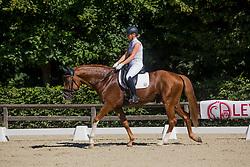 Verreet Katrien, BEL, Oblix vd Kempenhoeve<br /> Final selection WK Young Horses<br /> © Hippo Foto - Sharon Vandeput<br /> 29/06/19
