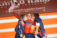 Podium Matej Mohoric (SLO - Bahrain - Merida) during the 101th Tour of Italy, Giro d'Italia 2018, stage 10, Penne - Gualdo Tadino 239 km on May 15, 2018 in Italy - Photo Luca Bettini / BettiniPhoto / ProSportsImages / DPPI