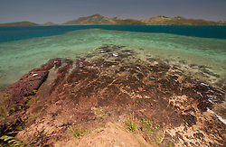The Blue Lagoon from Vonu Point, Turtle Island, Yasawa Islands, Fiji