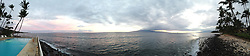 Sunset Over Maui Channel, Lahaina, Maui, Hawaii, US