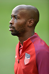 September 1, 2017 - Harrison, New Jersey, U.S - USMNT defender DAMARCUS BEASLEY (7) is seen prior to a World Cup Qualifier at Red Bull Arena in Harrison New Jersey Costa Rica defeats USA 2 to 0 (Credit Image: © Brooks Von Arx via ZUMA Wire)