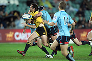 Conrad Smith. Waratahs v Hurricanes. 2012 Super Rugby round 15 match. Allianz Stadium, Sydney Australia on Saturday 2 June 2012. Photo: Clay Cross / photosport.co.nz