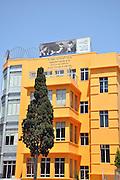 Israel, Tel Aviv Felicja Blumental Music Centre and library at Bialik Square in Bialik street.