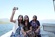 Turkey, Dalyan region, boat trip on the river
