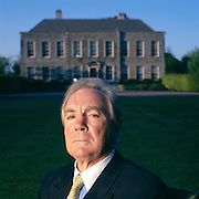 O'Reilly, CEO of the H.J. Heinz Company, at his mansion in Ireland.