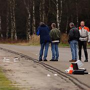 Lijk gevonden A27 parkeerplaats de Bosberg, technische recherche