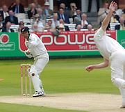 Lord's London, 1st NPower Test   England v New Zealand.   20/05/2004 <br /> [Credit Peter Spurrier Intersport Images}